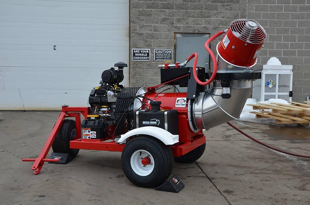 Gasoline Dust Amp Odor Control Buffalo Turbine