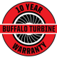 Buffalo Turbine - 10 Year Warranty