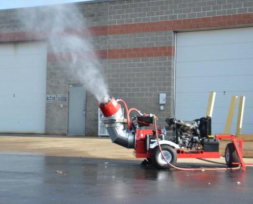 Diesel Dust & Odor Control