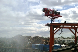 Electric Dust & Odor Control